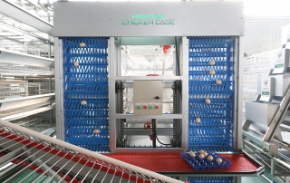 egg collection machine