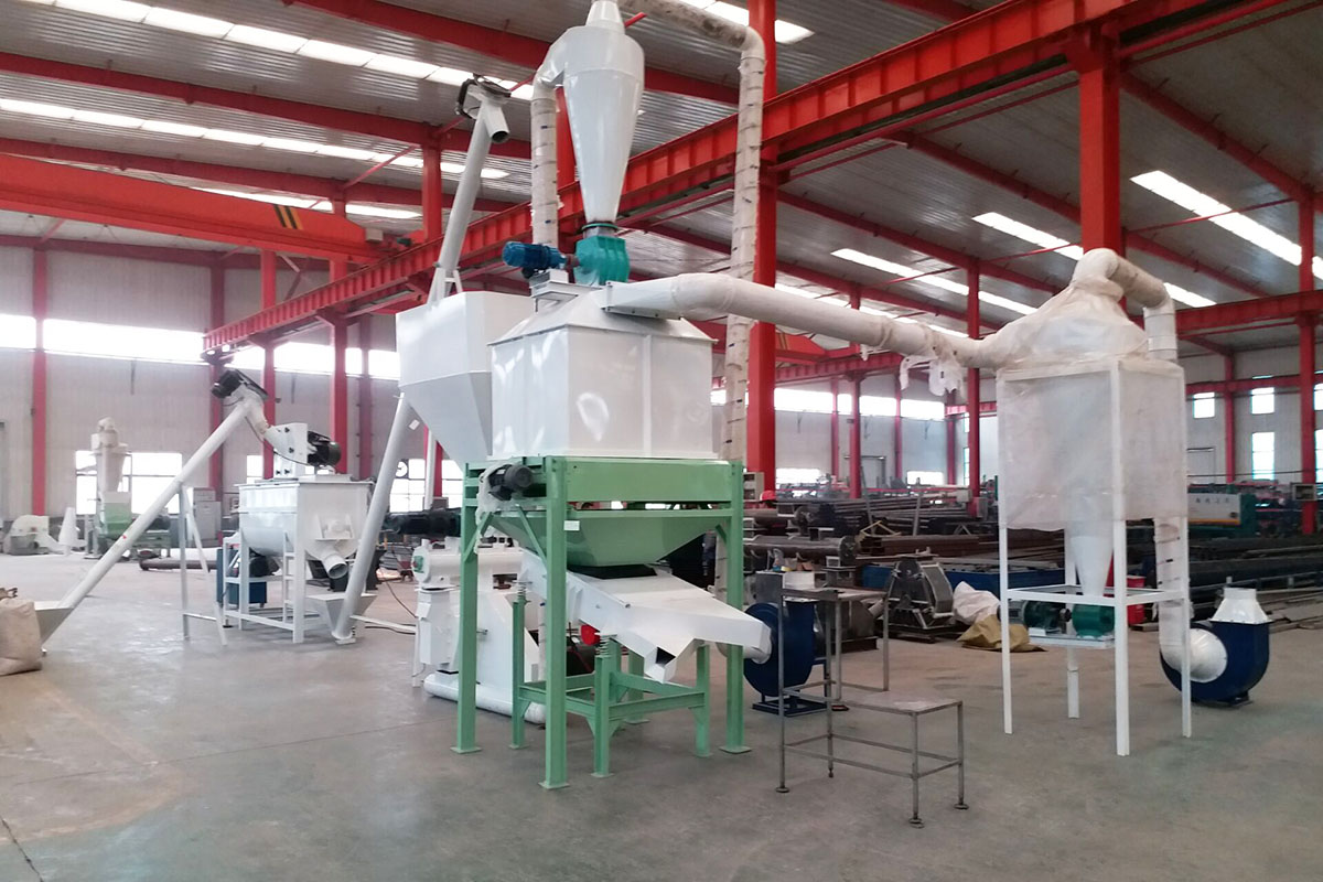 commercial feed mill equipment for sale