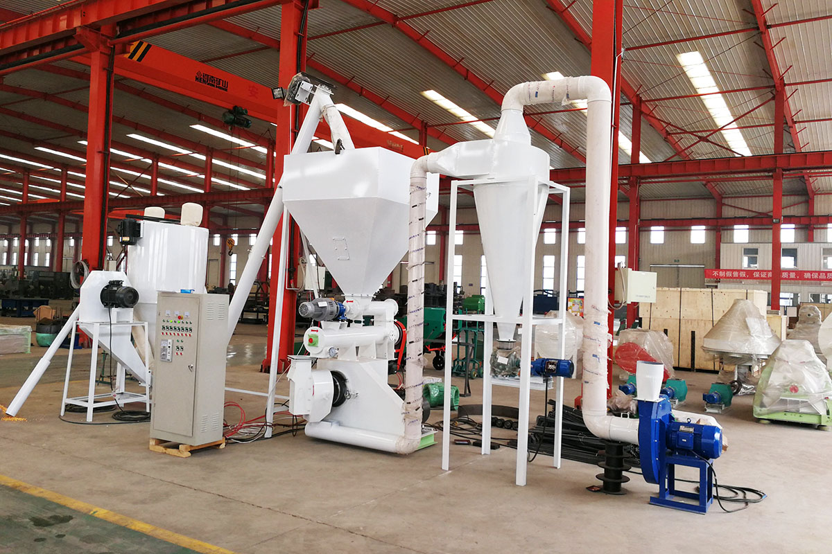 poultry chicken feed machine