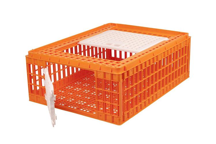 plastic chicken crates