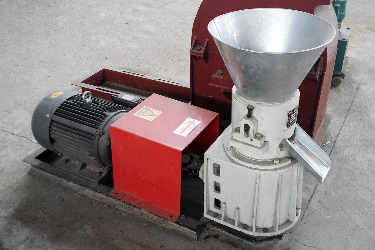 small feed pellet machine