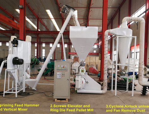 Stationary Horizontal Vertical Chicken Feed Mixer Machine