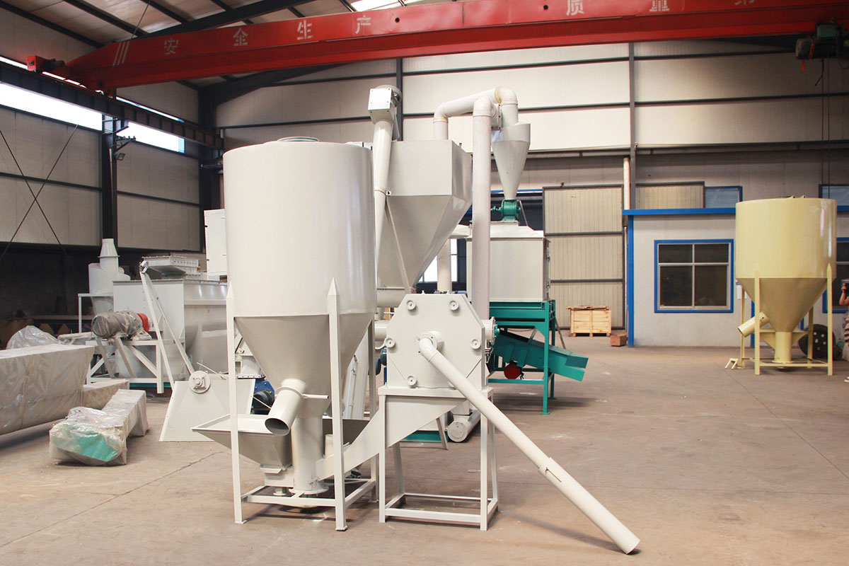 vertical feed mixer for sale