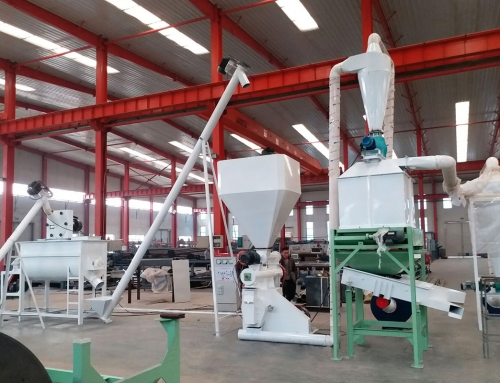 Animal Feed Pellet Machine, Chicken Poultry Feed Pelletizer