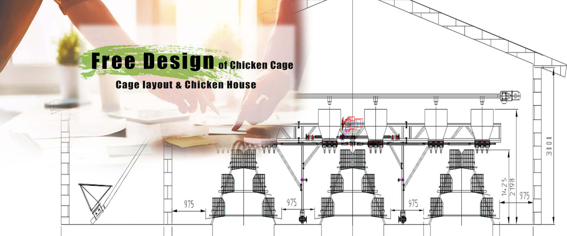 Poultry farm free layout design