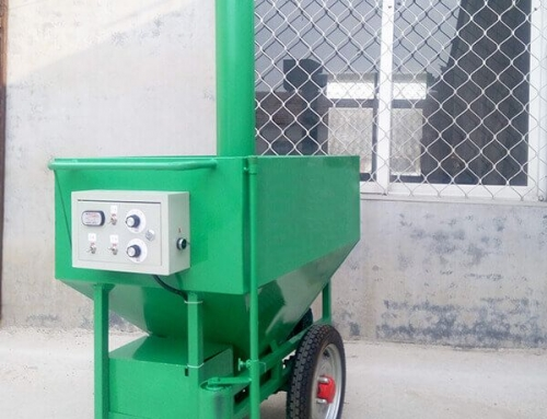 Semi Automatic Poultry Feed Machine
