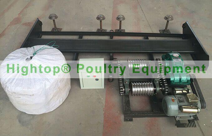 automatic manure removal machine