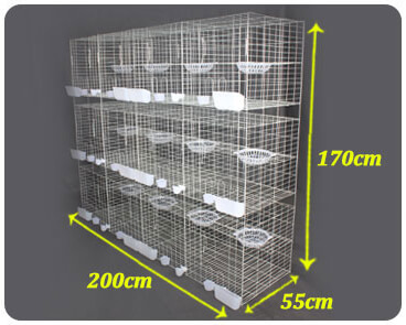 pigeon cage size dove bird cage