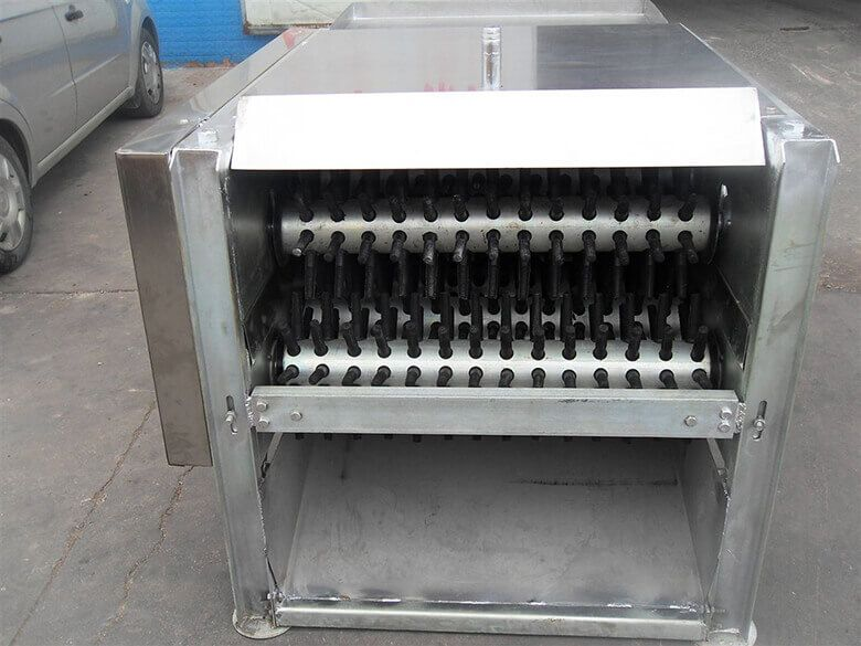 poultry plucker machine