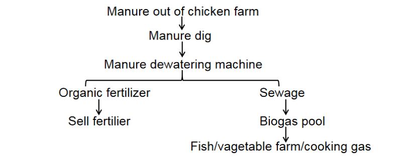 manure clean processing