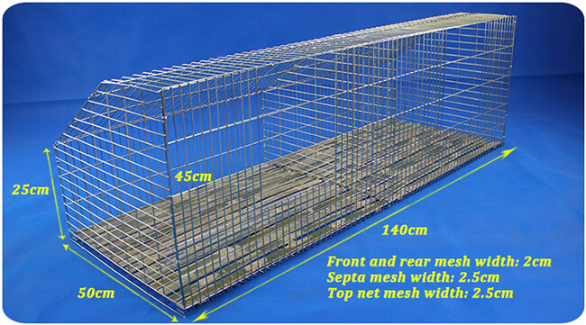 rabbit farming cages